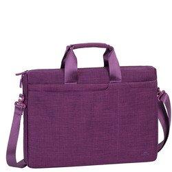 Rivacase 8335 (пурпурный) - Сумка для ноутбукаСумки и чехлы<br>Сумка для ноутбука диагональю до 15.6quot;, синтетика