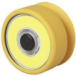 Эра RB-703 (Б0027822) - ФонарьФонари<br>Рабочий фонарь ЭРА RB-703 Практик 5Вт COB, 3xAAA, присоска Б0027822 имеет круглую форму, выполнен из ударостойкого пластика в ярко-желтом цвете. Изделие работает от одной светодиодной лампы типа COB мощностью 5 Вт. Данная модель легко крепится к гладким поверхностям при помощи присоски.