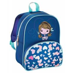 Hama LOVELY GIRL (синий, голубой) - Ранец, рюкзак, сумка, папка
