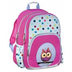 Hama SWEET OWL (розовый, голубой) - Ранец, рюкзак, сумка, папкаРюкзаки и ранцы для школы<br>Рюкзак Hama SWEET OWL, материал-полиэстер, объем-14л, внешние размер 28x40x18см, светоотражающие материалы, ручка для переноски.