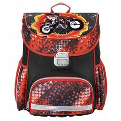 Hama MOTORBIKE (красный, черный) - Ранец, рюкзак, сумка, папка