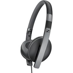 Sennheiser HD 2.30G (черный) - НаушникиНаушники и Bluetooth-гарнитуры<br>Наушники с микрофоном, накладные, 22 Ом, 115 дБ, разъем mini jack 3.5 mm.