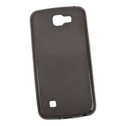 Чехол для LG K4 (Fashion case 0L-00031104) (черный) - Чехол для телефонаЧехлы для мобильных телефонов<br>Чехол-накладка плотно облегает корпус телефона и гарантирует его надежную защиту от царапин и потертостей.