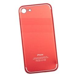 Чехол-накладка для Apple iPhone 7, 8 (Liberti Project 0L-00032480) (красный) - Чехол для телефонаЧехлы для мобильных телефонов<br>Обеспечит надежную защиту Вашего устройства от царапин, сколов и потертостей.