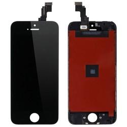 Дисплей для Apple iPhone 5S, SE с тачскрином (Liberti Project 0L-00032672) (черный) (1 категория Q) - Дисплей, экран для мобильного телефона