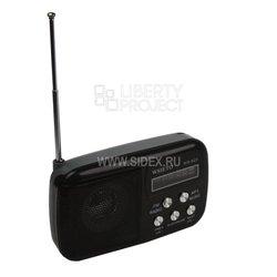 WSIETO WS-882 (черный) - РадиоприемникРадиоприемники<br>WSTER WS-882 - колонка-радиоприемник, поддерживаемые форматы: MP3, WMA. Питание: BL-5C, выходная мощность: RMS 3 Вт, диапазон воспроизводимых частот: 150-18000 Гц, LED-дисплей, емкость: 1020 мАч, размер динамика: 45 мм, напряжение: 3.7 В, поддерживаемые носители: microSD, USB - flash. Разъёмы: miniJack 3.5 мм: Line IN, USB, DC5V.