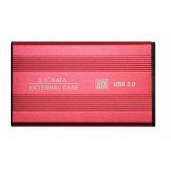 """Корпус для жесткого диска 2.5"""" BET-S254 (Palmexx PX/HDDBox2.0 BETS254 RED) (красный) - Корпус, док-станция для жесткого диска"""