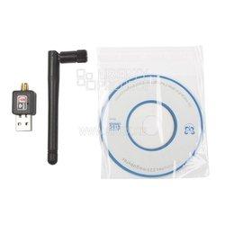 USB Wi-Fi адаптер для ПК 300 Mb, s 802.11n () - АксессуарРазное<br>USB Wi-Fi адаптер для ПК 300 Mb/s 802.11n ()
