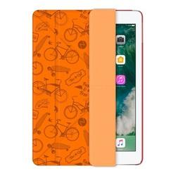 Чехол-подставка для Apple iPad 9.7 2017 (Deppa Wallet Onzo 88034) (оранжевый) - Чехол для планшетаЧехлы для планшетов<br>Защитит планшет от пыли, царапин и других внешних воздействий.