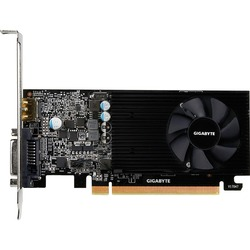 Gigabyte GT 1030 Low Profile 2G (GV-N1030D5-2GL) - ВидеокартаВидеокарты<br>Видеокарта, 2ГБ, GDDR5, DVI, HDMI, 64-бит, PCI-E x16 3.0, активная система охлаждения, низкопрофильная.