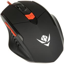 Nakatomi Gaming MOG-11U (черный) - Мышь, клавиатура для компьютера и планшетаКлавиатуры, мыши, комплекты<br>Nakatomi Gaming MOG-11U - компьютерная мышь, проводная, оптическая, USB, 6 кнопок, 800/1200/1600/2400 dpi.