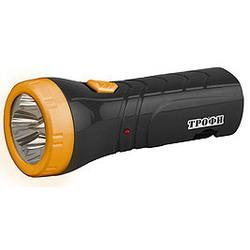 Трофи Акку TA4 (оранжево-черный) - ФонарьФонари<br>Фонарь светодиодный, 4 белых светодиода, 2 режима работы, аккумулятор 4В 0.5 Ач, 6 часов работы без подзарядки.
