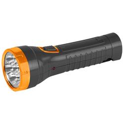 Трофи Акку TA7 (оранжево-черный) - ФонарьФонари<br>Фонарь светодиодный, 7 белых светодиодов, 2 режима работы, аккумулятор 4В 0.9 Ач, 6 часов работы без подзарядки.