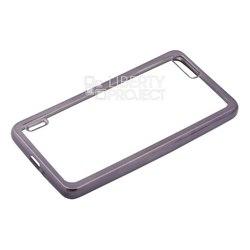 Чехол-накладка для Huawei Honor 6 Plus (Liberti Project 0L-00030947) (прозрачный, черная рамка) - Чехол для телефонаЧехлы для мобильных телефонов<br>Чехол-накладка плотно облегает корпус телефона и гарантирует его надежную защиту от царапин и потертостей.
