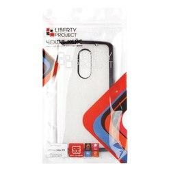 Чехол-накладка для Lenovo Vibe X3 (Liberti Project 0L-00030842) (прозрачный, черная рамка) - Чехол для телефонаЧехлы для мобильных телефонов<br>Чехол-накладка плотно облегает корпус телефона и гарантирует его надежную защиту от царапин и потертостей.