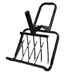 Рыхлитель Крот-М - ИнструментИнструменты для обработки почвы<br>Рыхлитель, садово-огородный, ширина копки одной полосы 420 мм.