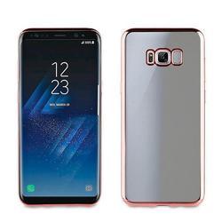 Чехол-накладка для Samsung Galaxy S8 Plus (Muvit Bling Case MLBKC0159) (розовый) - Чехол для телефонаЧехлы для мобильных телефонов<br>Чехол плотно облегает корпус и гарантирует надежную защиту от царапин и потертостей.