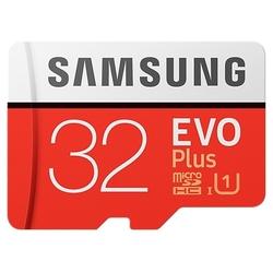 Samsung MB-MC32GA/RU w/o adapter - Карта флэш-памятиКарты флэш-памяти<br>microSDHC, 32 Гб, скорость чтения 95 Мб/с, скорость записи 20 Мб/с, UHS Class 1.