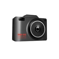 SHO-ME COMBO SMART SIGNATURE - Автомобильный видеорегистраторВидеорегистраторы<br>Sho-Me Combo Smart Signature - с радар-детектором, ЖК-экран 2.31amp;quot;, G-сенсор, GPS, аккумулятор, угол обзора 135°, микрофон, Ambarella A12, оперативная память 256МБ, внутренняя память 128МБ, microSD (microSDHC)
