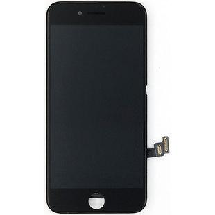 Дисплей для Apple iPhone 7 с тачскрином, с рамкой (Liberti Project 0L-00031502) (черный) - Дисплей, экран для мобильного телефонаДисплеи и экраны для мобильных телефонов<br>Полный заводской комплект замены дисплея для Apple iPhone 7. Стекло, тачскрин, экран для Apple iPhone 7 в сборе. Если вы разбили стекло - вам нужен именно этот комплект, который поставляется со всеми шлейфами, разъемами, чипами в сборе.