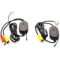 Набор для беспроводного подключения камеры заднего вида (AVIS AVS01WK) - АксессуарАксессуары для камер заднего вида<br>Приемник и передатчик для беспроводной передачи видео с камеры заднего вида на расстояние до 100м, по радиоканалу 2.4-2.483 ГГц. Передатчик устанавливается в багажник, подключается к камере заднего вида, приемник подключается к монитору. При включении задней передачи питание автоматически подается на приемник и передатчик.