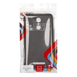 Чехол-накладка для Xiaomi Redmi Note 3 (Liberti Project 0L-00031763) (черный) - Чехол для телефонаЧехлы для мобильных телефонов<br>Чехол-накладка плотно облегает корпус телефона и гарантирует его надежную защиту от царапин и потертостей.