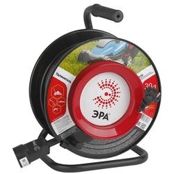 Сетевой удлинитель Эра RP-1-2x0.75-20m (1 розетка, 20 м) (черный) - Сетевой фильтрУдлинители и сетевые фильтры<br>Удлинитель сетевой для подключения электрических приборов и электроинструментов, длина 20 метров, сечение кабеля 2x0.75 мм2, 1 розетка.