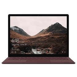 "microsoft surface laptop (intel core i5 7200u 2500 mhz/13.5""/2256x1504/8gb/256gb ssd/dvd нет/intel hd graphics 620/wi-fi/bluetooth/windows 10 pro)"