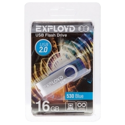 EXPLOYD 530 16GB (синий)