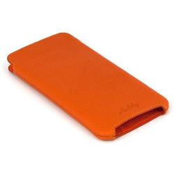 Чехол флип для Apple iPhone 6, 6s (Heddy Ultraslim) (оранжевый) - Чехол для телефонаЧехлы для мобильных телефонов<br>Обеспечит надежную защиту Вашего устройства от царапин, сколов и потертостей.