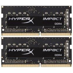 Kingston HX426S15IB2K2/16 - Память для компьютераМодули памяти<br>Kingston HX426S15IB2K2/16 - DDR4 2666 (PC 21300) SODIMM 260 pin, 2x8 Гб, 1.2 В, CL 15