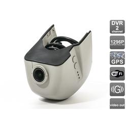 Штатаный видеорегистратор для AUDI A1, A3, A4, A4 Allroad, A5, A6, A6 Allroad, A7, A8, Q3, Q5, Q7, TT, SKODA A7 (AVIS AVS400DVR (#108)) - Автомобильный видеорегистраторВидеорегистраторы<br>Штатный двухканальный автомобильный Ultra HD (1296P) видеорегистратор с GPS для AUDI A1, A3, A4, A4 Allroad, A5, A6, A6 Allroad, A7, A8, Q3, Q5, Q7, TT, SKODA A7.