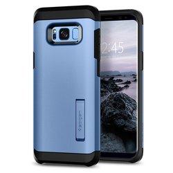 Чехол-накладка для Samsung Galaxy S8 (Spigen Tough Armor 565CS21644) (голубой коралл) - Чехол для телефонаЧехлы для мобильных телефонов<br>Защитит смартфон от грязи, пыли, брызг и других внешних воздействий.