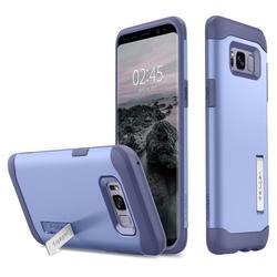 Чехол-накладка для Samsung Galaxy S8 Plus (Spigen Slim Armor 571CS21124) (фиолетовый) - Чехол для телефонаЧехлы для мобильных телефонов<br>Защитит смартфон от грязи, пыли, брызг и других внешних воздействий.