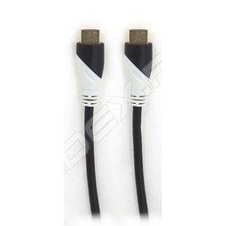 Кабель HDMI M-HDMI M 3м (К232-70) (черный) - HDMI кабель, переходникHDMI кабели и переходники<br>Кабель с разъемами HDMI, версия 1.4b, длина 3 м, 2 фильтра, позолоченные контакты.