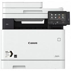 Canon i-SENSYS MF734Cdw - Принтер, МФУПринтеры и МФУ<br>Canon i-SENSYS MF734Cdw - МФУ, копир/принтер/сканер/факс, A4, цветной, лазерный, DADF, duplex, 27стр/мин, 1200x1200dpi, WiFi, LAN.