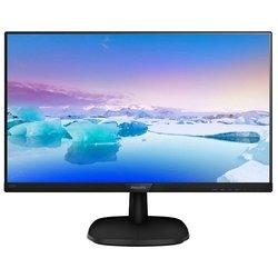 Philips 243V7QDAB - МониторМониторы<br>Philips 243V7QDAB - ЖК (TFT IPS) 23.8quot;, широкоформатный, 1920x1080, LED-подсветка, 250 кд/м2, 1000:1, 5 мс, 178°/178°, стереоколонки, DVI, HDMI, VGA