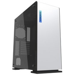 GameMax M909 Vega Perspex White - КорпусКорпуса<br>ATX, mATX, Midi-Tower, сталь, без блока питания, 4xUSB на лицевой панели, цвет: белый.