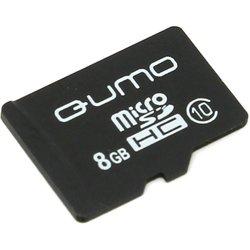 Qumo microSDHC class 10 8GB (QM8GMICSDHC10NA) - Карта флэш-памяти