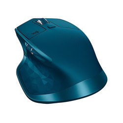 Logitech MX Master 2S Wireless Midnight Teal - Мышь, клавиатура для компьютера и планшетаКлавиатуры, мыши, комплекты<br>Беспроводная мышь, интерфейс приемника USB, 5 кнопок + 2 колесика прокрутки, 4000dpi.