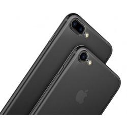 Чехол-накладка для Apple iPhone 7 Plus, 8 Plus (Baseus Wing Case WIAPIPH7P-E01) (черный) - Чехол для телефонаЧехлы для мобильных телефонов<br>Чехол накладка плотно облегает корпус телефона и гарантирует его надежную защиту от царапин и потертостей.