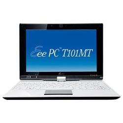 "asus eee pc t101mt (atom n450 1660 mhz/10.1""/1024x600/2048mb/320gb/dvd нет/wi-fi/win vista hp)"