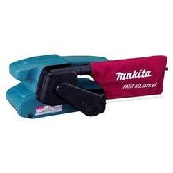 Makita 9910 - Ленточная шлифмашинаЛенточные шлифмашины<br>Ленточная шлифмашина, мощность 650 Вт, скорость ленты до 270 м/мин, лента 457x76 мм, пылесборник, вес: 2.6 кг