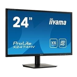 IIYAMA ProLite X2474HV-B1 - МониторМониторы<br>IIYAMA ProLite X2474HV-B1 - монитор, 23.6quot;, VA, LED, 1920x1080, 4ms, 178°178°, 16:9, 250cd, 3000:1, D-Sub.