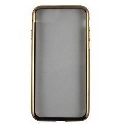 Чехол-накладка для Samsung Galaxy J3 2017 (iBox Blaze YT000011432) (золотистая рамка) - Чехол для телефонаЧехлы для мобильных телефонов<br>Чехол плотно облегает корпус и гарантирует надежную защиту от царапин и потертостей.
