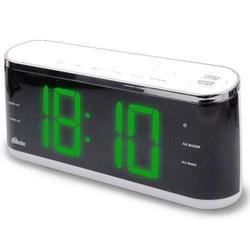 Ritmix RRC-1810 (белый) - РадиоприемникРадиоприемники<br>Ritmix RRC-1810 - радиобудильник, питание от сети, фиксированных настроек: 20, прием: FM