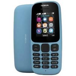 Nokia 105 Dual Sim 2017 (A00028317) (голубой) ::: - Мобильный телефонМобильные телефоны<br>Поддержка двух SIM-карт, телефон с классическим корпусом, экран 1.4quot;, разрешение 128x128, без камеры, без слота для карт памяти, аккумулятор 800 мАч, вес 70 г, ШxВxТ 45.50x108.50x14.10 мм, радио.