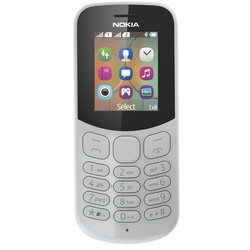 Nokia 130 Dual sim (2017) (серый) ::: - Мобильный телефон