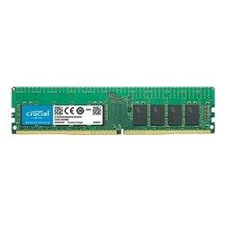 Crucial CT16G4RFS4266 - Память для компьютераМодули памяти<br>Crucial CT16G4RFS4266 - DDR4 2666 (PC 21300) DIMM 288 pin, 1x16 Гб, буферизованная, ECC, 1.2 В, CL 19
