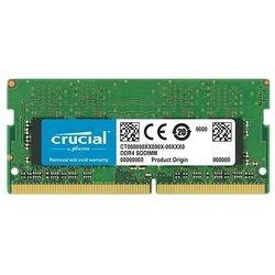 Crucial CT8G4SFD824A - Память для компьютераМодули памяти<br>Crucial CT8G4SFD824A - DDR4 2400 (PC 19200) SODIMM 260 pin, 1x8 Гб, 1.2 В, CL 17